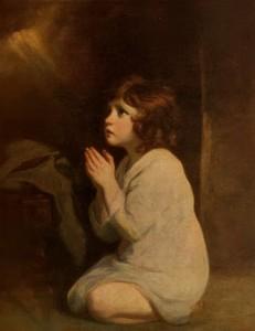 The Infant Samuel Sir Joshua Reynolds, 1776
