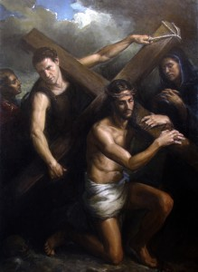 Matthew James Collins, Jesus Carrying the Cross