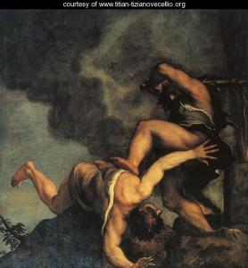 Tizian, Kajin i Abel