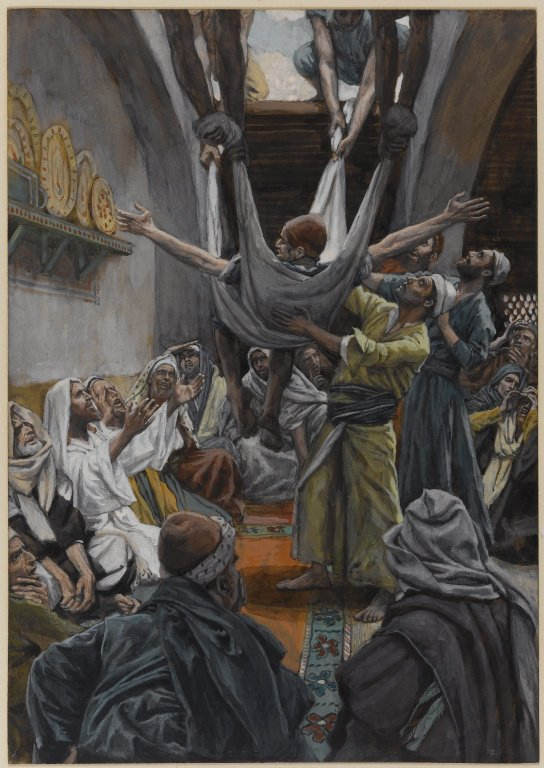 James Tissot, Isus i paraliziran čovjek