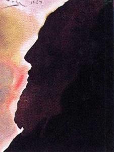 S. Dali, Abraham, pater multarum gentium  (1964.)