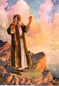 Mojsije u molitvi