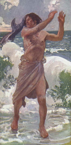 James Tissot (1836.–1902.) The Prophet Jonah (akvarel — cca. 1888)
