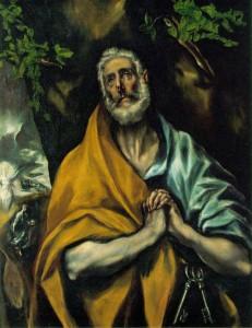 El Greco, Suze sv. Petra