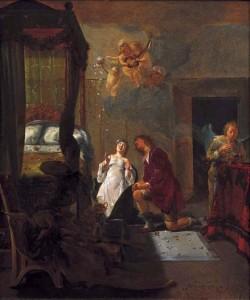 Nicolaus_Knupfer_-_Tobias_en_Sarah_1654