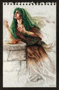 LilianBroca_Judith-Praying-in-the-Desert-featured